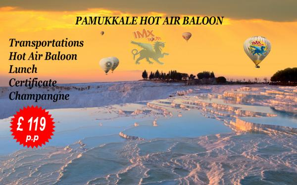 Pamukkale Hot Air Baloon