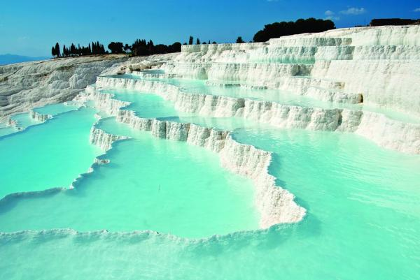 LAKE SALDA-LAVENDER FIELDS-PAMUKKALE RED SPRING WATER OVERNIGHT TOUR